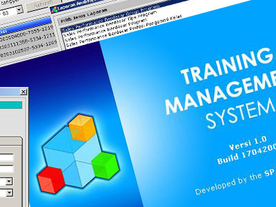 Windows Programming: Training Management System <br> A feature-packed, client-server program running on Windows network.